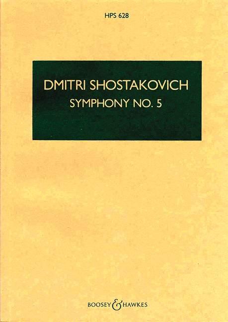 5 op Dmitri study score orchestra 9790060024450 47 Shostakovich Symphony No